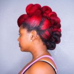 Twisted Fro Hawk Tutorial