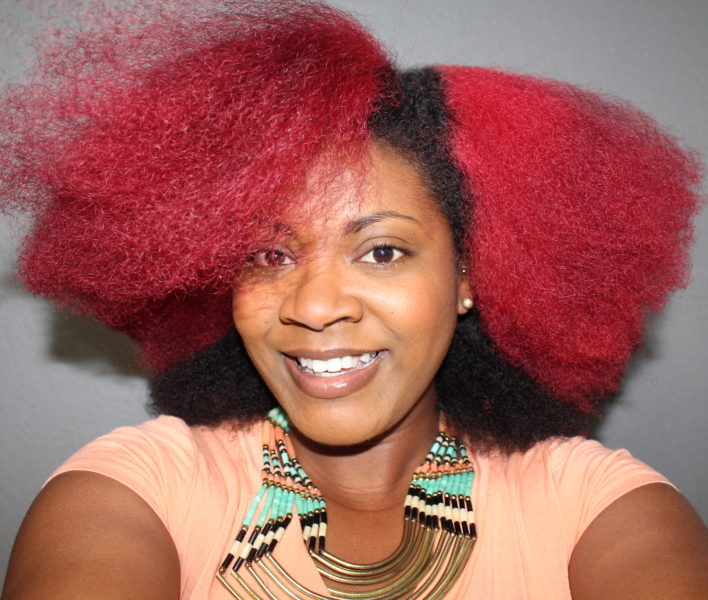 Red Hair Color   How to Dye Natural Hair Red