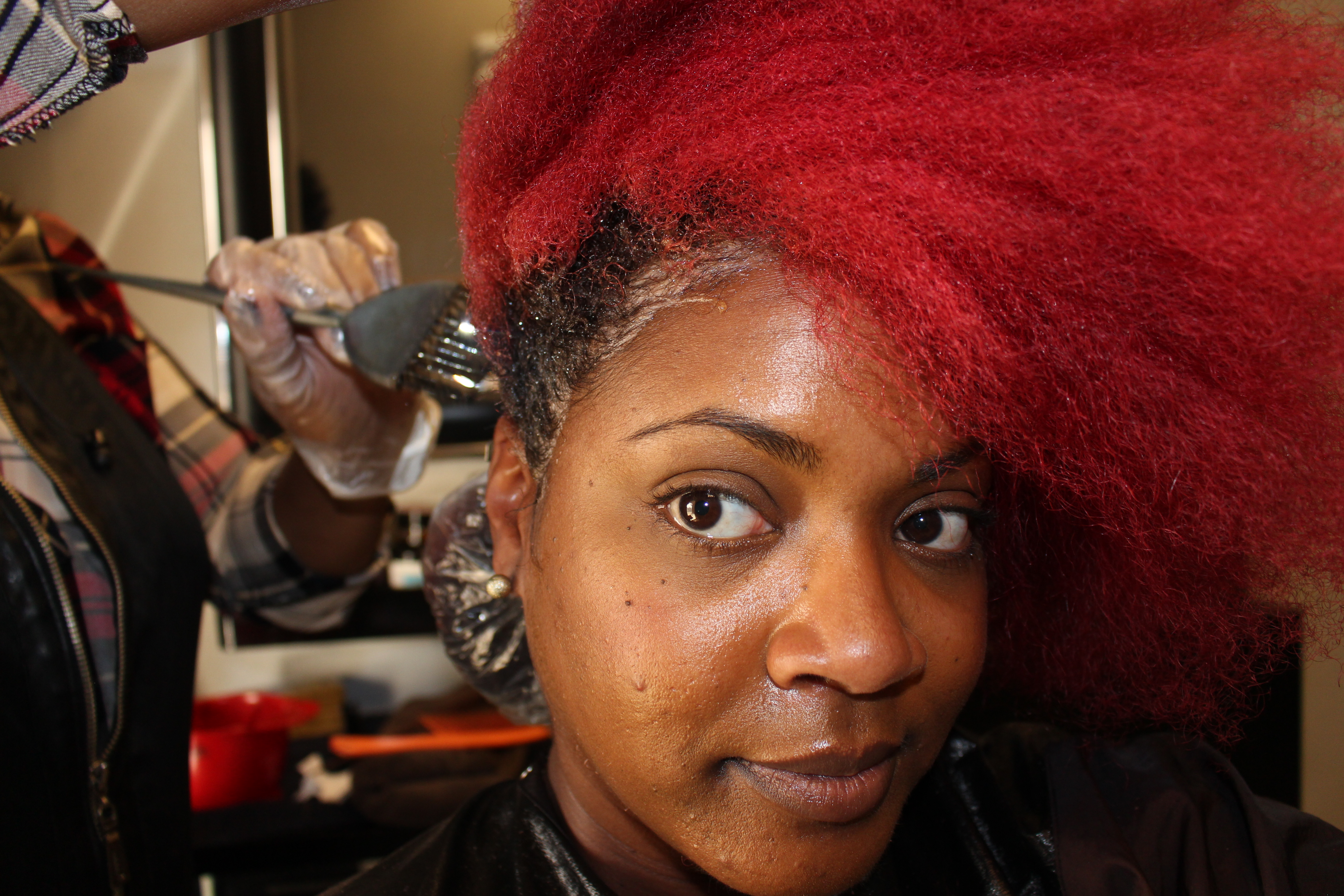 Red Hair Color | How to Dye Natural Hair Red