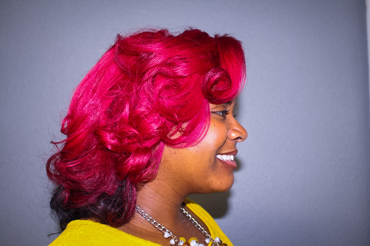 Red Hair Color | Curly Corner