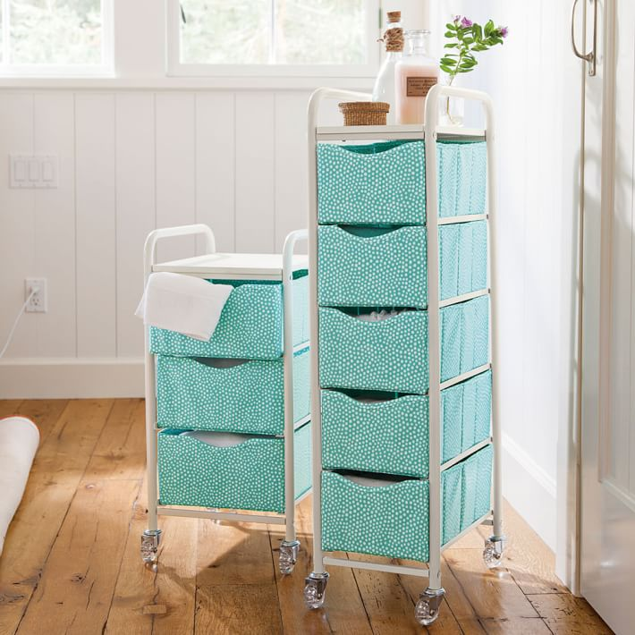 Organizing natural hair products curly corner - Bathroom storage cart with wheels ...
